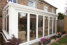 Energy efficient bi-fold upvc doors